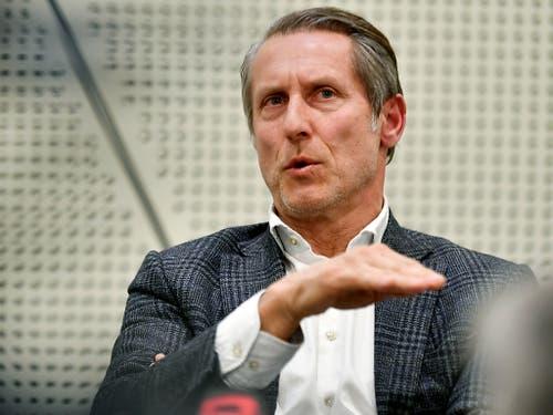 Rietiker ersetzt Stephan Anliker, der am Montag seinen Rückzug als Präsident bekannt gemacht hatte (Bild: KEYSTONE/WALTER BIERI)