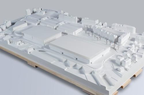 ...im Jahr 2022 abgeschlossen sein. Dann zeigt sich die Olma mit der neuen Halle 1. (Bilder: zvg)