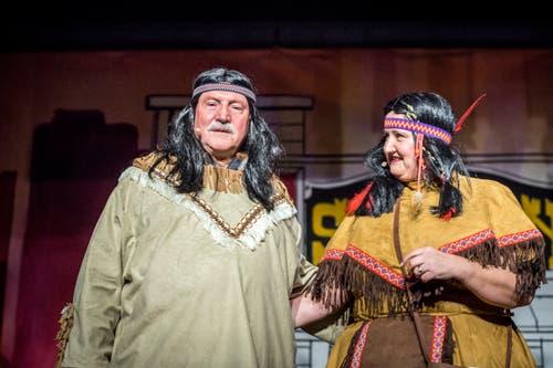 Die Arabianer Karin Friedrich und Walter Rusch. (Bild: Andrea Stalder)