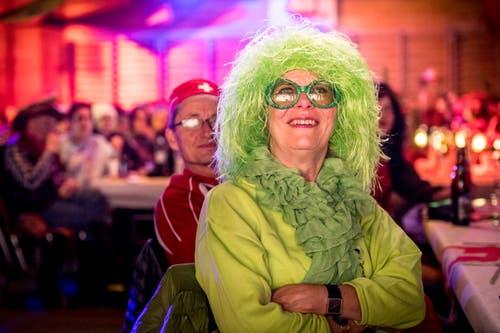 Bunte Kostüme prägten den Abend. (Bild: Andrea Stalder)