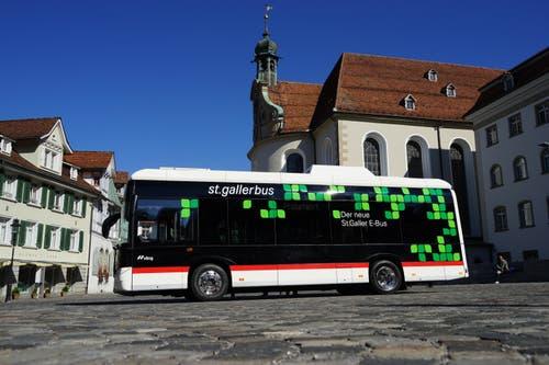 ...zwischen dem Hauptbahnhof St.Gallen und Wittenbach.