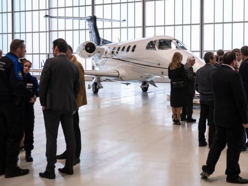 Der Militärflugplatz in Payerne setzt künftig stärker auf die Geschäftsfliegerei. (Bild: Keystone/ADRIEN PERRITAZ)