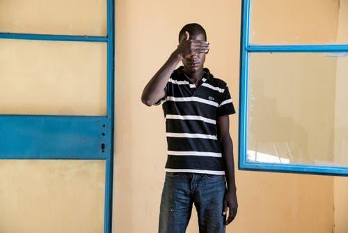 1. Preis Ausland Reportage: ein ehemaliger Gefangener der Boko Haram-Sekte. (Bild: Michael Zumstein für «Le Point»)