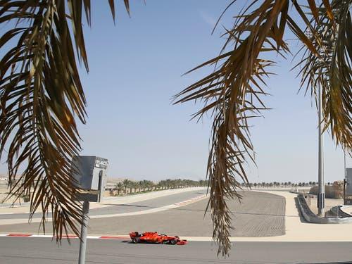 Am Sonntag findet in der Wüste am Persischen Golf zum 15. Mal ein Formel-1-GP statt (Bild: KEYSTONE/AP/LUCA BRUNO)