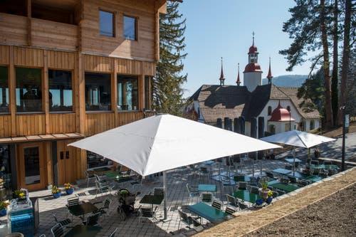 Das Hotel Restaurant Hergiswald wird neu eröffnet. (Bilder: Dominik Wunderli, 29. März 2019)