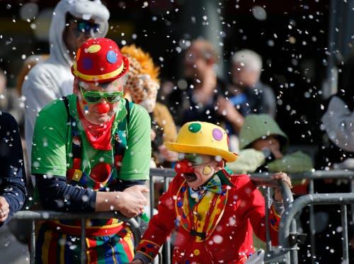 Was wäre die Fasnacht ohne Clowns? (Bild: Stefan Kaiser, Cham, 3. März 2019)
