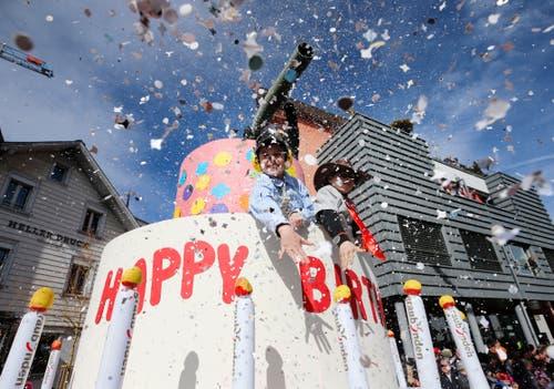 Und nochmals: Happy Birthday Knie! (Bild: Stefan Kaiser, Cham, 3. März 2019)