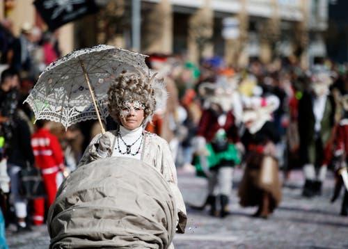 Eleganz und Grazie aus der opulenten Zeit des Rokoko. (Bild: Stefan Kaiser, Cham, 3. März 2019)