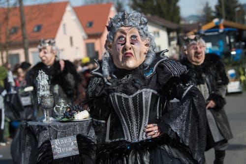 Rara Avis ist am Sonntag beim Umzug in Littau anzutreffen. (Bild: Boris Bürgisser, Littau, 3. März 2019)