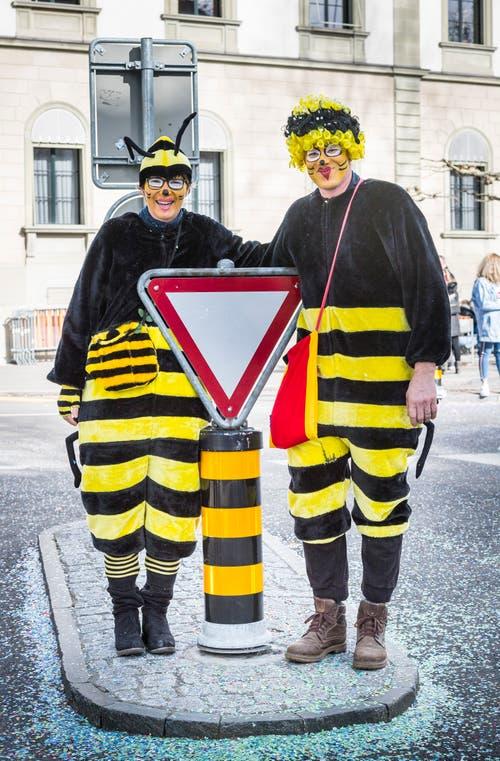 Fasnachtsumzug Frauenfeld. (Bild: Andrea Stalder)