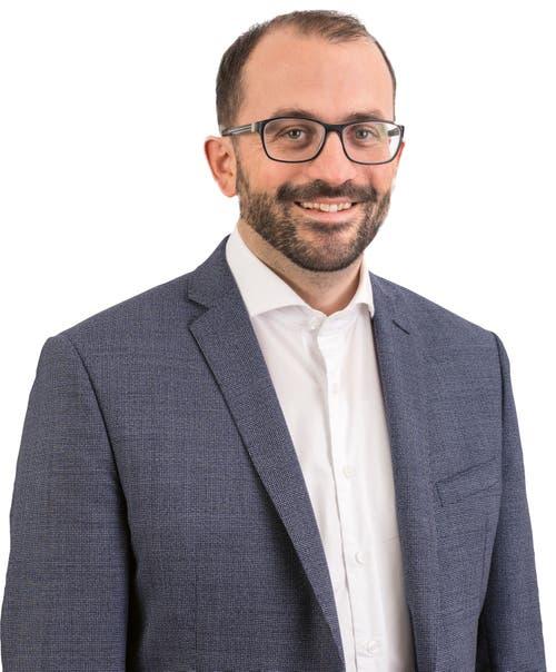 Adrian Nussbaum, CVP