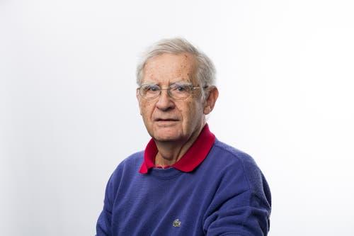 Peter Kunzmann, 76, Hildisrieden.