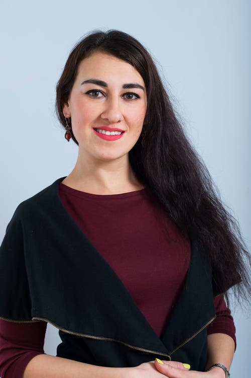 Olena Halter, 33.