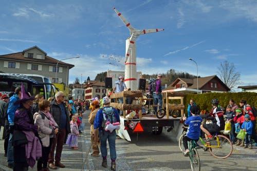 Ein mögliches Windrad auf dem Älpli beschäftigt auch in Mosnang. (Bild: Peter Jenni, 3. März 2019)