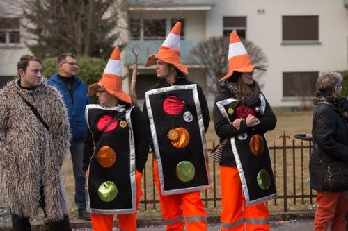Fasnachtsumzug in Malters am Güdismontag. (Bild: Dominik Wunderli)