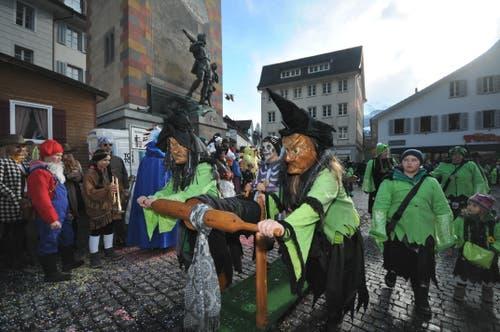 Impressionen vom Umzug in Altdorf am Güdismontag. (Bild: Urs Hanhart, Altdorf, 4. März 2019)