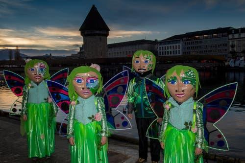 Impressionen von der Weytagwache. (Bild: Boris Bürgisser, Luzern, 4. März 2019)