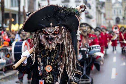 Die Nachtheueler Horw mit dem Motto Piraten am Wey-Umzug am Montag, 4. März 2019 in Luzern.