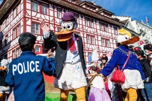 Chendermonster in der Stadt Luzern (Bild: Philipp Schmidli, Luzern, 5. März 2019)