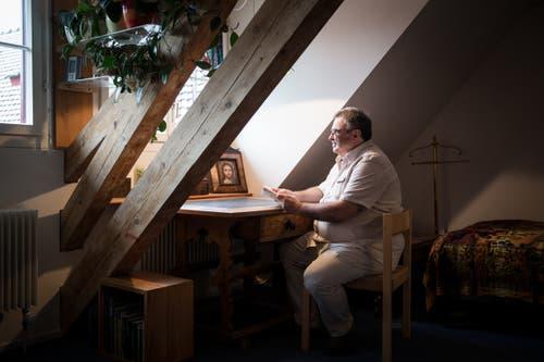 Privatsphäre in historischen Mauern: Klosternahes Wohnen im Wesemlin. (Bild: Manuela Jans-Koch, 11. November 2016)