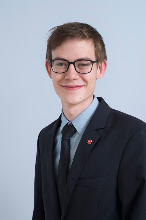 Joachim Bannwart, 22, Malters.