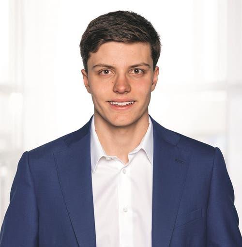 Daniel Rose, 19, St. Niklausen.