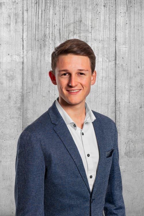Matthias Erni, 21, Kriens.