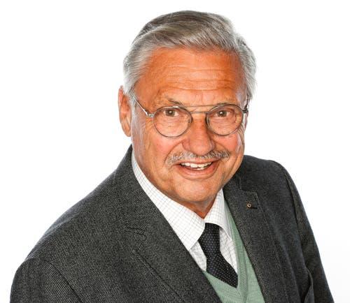Räto Camenisch, 73 (bisher), Kriens.