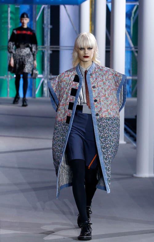 Wuchtig und bunt wird der Herbst 2019/2020 bei Louis Vuitton.