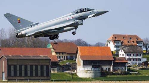 Der Eurofighter des europäischen Herstellers Airbus. (Bild: Keystone)