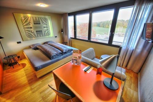 Blick in eines von 550 Hotelzimmern (in drei Kategorien). (Bild: PD)