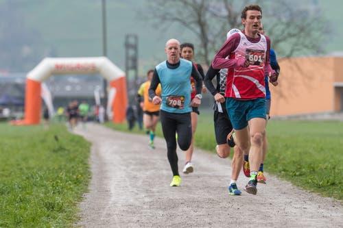 Remo Blättler aus Stans führt diese Gruppe an. (Bild: Boris Bürgisser, Stans, 14. April 2019)