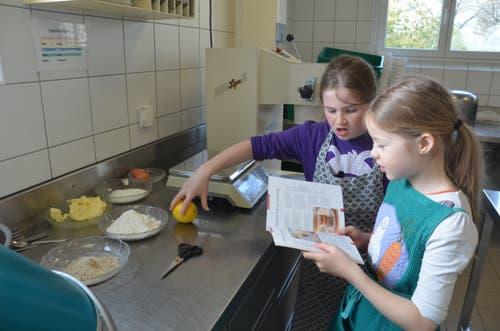 Auch der Dessert gehört zum Menü im Möösli dazu.