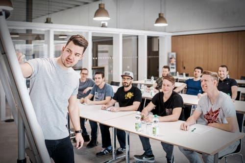 Workshop - und Seminarraum in der Sportarena. (Bild: PD)