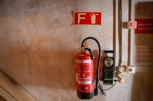 ...installiert. Bei einem Brandfall werden innert weniger Minuten rund...
