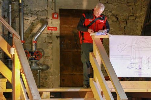 ...soll so rasch und effizient wie möglich erfolgen können. Im Dachstock lagert noch allerhand...