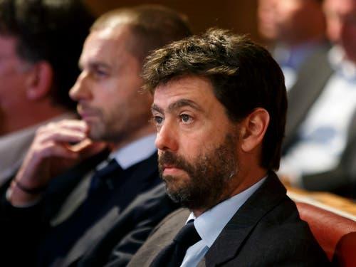 Andrea Agnelli zeigte sich als fairer Verlierer und lobte vor allem den Gegner Ajax (Bild: KEYSTONE/SALVATORE DI NOLFI)