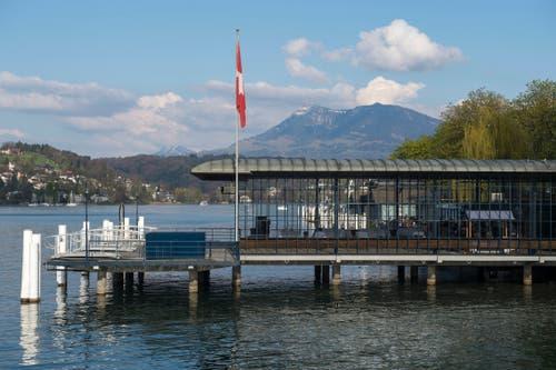Offenheit und Transparenz - dies wurde mit der Renovierung des Baus wieder geschaffen. (Bild: Dominik Wunderli, 17. April 2019, Luzern)
