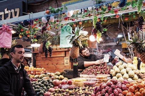 Darf in Jerusalem nicht fehlen: ein Besuch des Mahane-Yehuda-Markts.