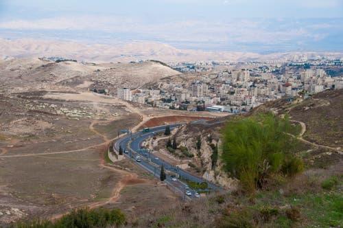 Blick auf das Westjordanland.