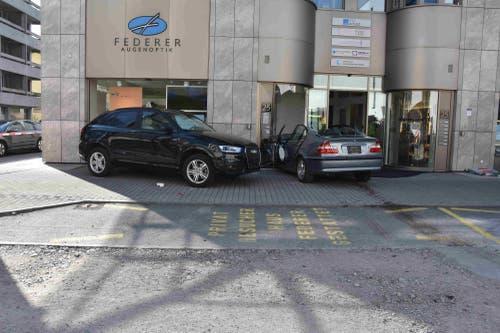 Die Fahrerin machte einen technischen Defekt am Auto geltend.