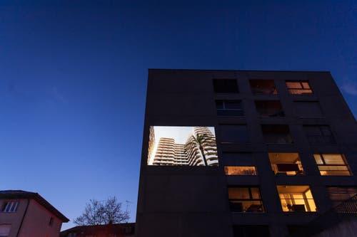 «Stadtprojektionen III»: Conradin Frei, Gerbestrasse. (Bild: Michel Canonica)