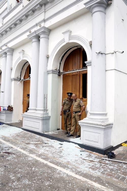 Mehrere Kirchen in Sri Lanka wurden von den Explosionen erschüttert.