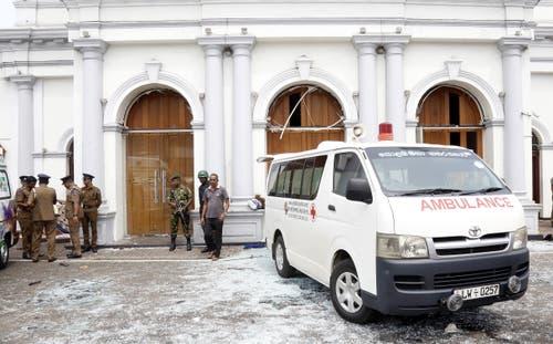 Mehrere Kirchen in Sri Lanka wurden von Explosionen erschüttert. (Bilder: Keystone)