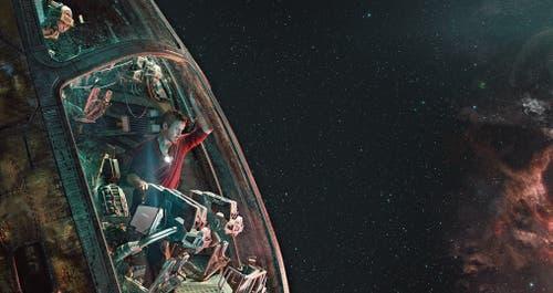 Die Hälfte allen Lebens im Universum wurde ausgelöscht: Der kampfmüde Iron Man (Robert Downey Jr.) ist einer der wenigen Überlebenden. (Bild: Bilder: Disney)