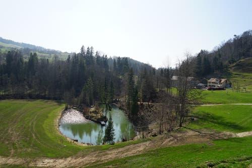 Der Weiler Marstal hat eine explosive Vergangenheit. (Bilder: Sandro Büchler)