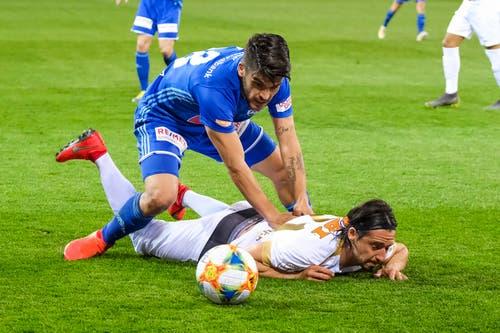 FCL-Spieler Francisco Rodriguez stand überraschend in der Startelf. (Bild: Martin Meienberger/freshfocus)