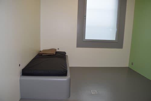 Auch zwei neue Arrestzellen haben Platz gefunden.