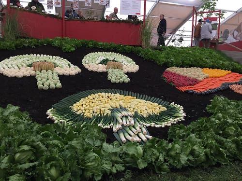 Gemüsebilder: sie sind Jahr für Jahr an der BEA ein bleibtes Fotosujet. (Bild: Therese Hänni)