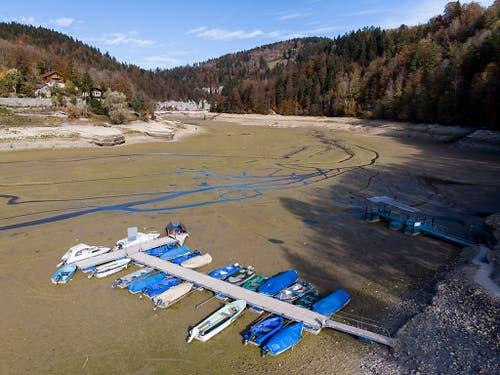 Die Regenarmut im Sommerhalbjahr 2018 ist nach Einschätzung von MeteoSchweiz nicht Teil eines laufenden Klimatrends. (Bild: KEYSTONE/ANTHONY ANEX)